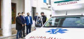 El Municipio de Alte Brown incorporo una ambulancia COVID 4 x 4